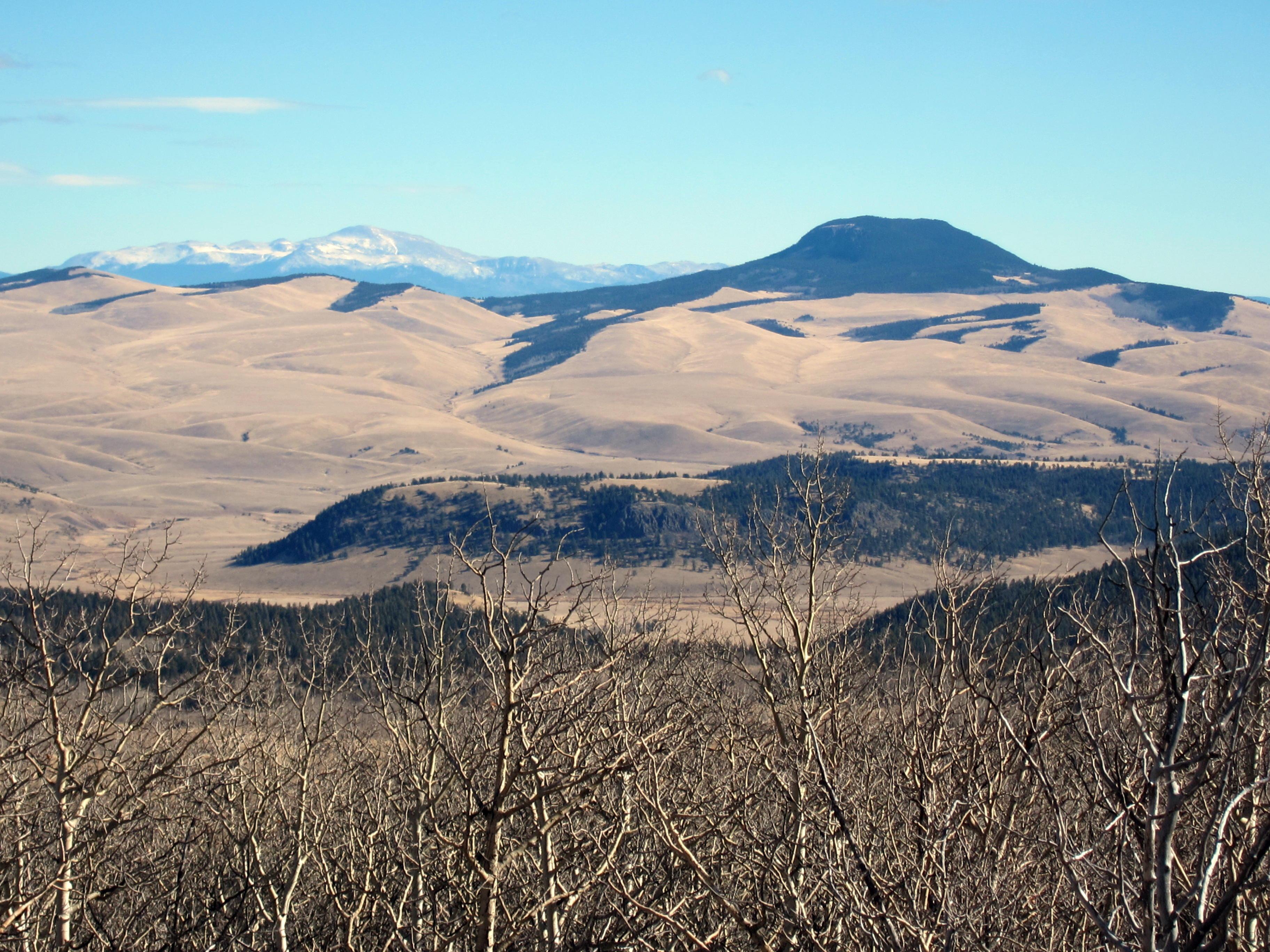 W0c sp 084 aspen ridge 3274 m 10740 ft sota for Aspen ridge
